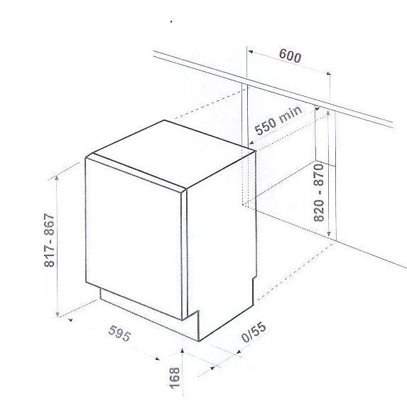 Встраиваемый холодильник Ardo IMP 15 SA.